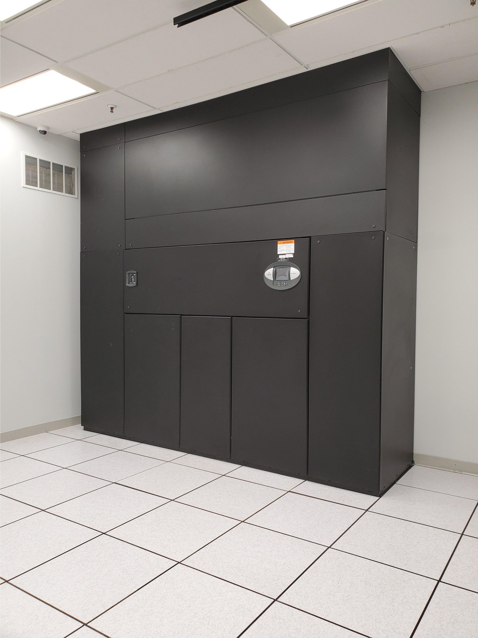 data centre hardware and security decorative